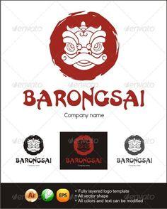 Barongsai logo template.. its an chinese prosperity logo.. hope all of you like it..^^