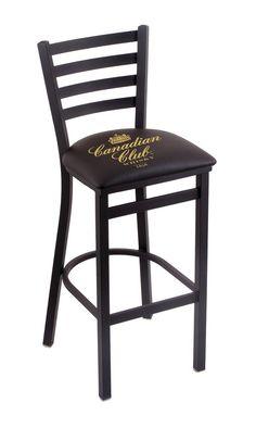 Canadian Club Counter Stool L00425CANCLB  #coolstuff #recroom #gameroom#CanadianClub #CUSTOMMADE #BarStool