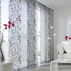 Panel blinds and curtains as well as information and materials for fastening, please contact our department for areas and sliding curtains Sliding Curtains, Door Curtains, Curtains With Blinds, Curtain Panels, Valances, Modern Curtains, Curtain Designs, Sliding Glass Door, Window Coverings