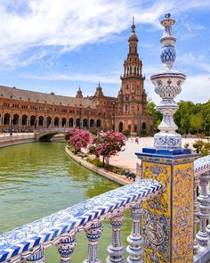 Colours of Plaza de España ~ Seville, Andalucía, Spain Phot Cadiz, Places To Travel, Places To Visit, Andalucia Spain, European Destination, Bilbao, Seville, Best Cities, Spain Travel