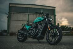 Custom Harley Street 750 tracker by NCT Motorcycles #harleydavidsonstreet750caferacers