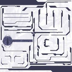 Halo 2 Tech set by on DeviantArt Ui Design, Layout Design, Cyborg Tattoo, Witcher Wallpaper, Halo 2, Presentation Layout, Cyberpunk Art, Space Time, Art Poses