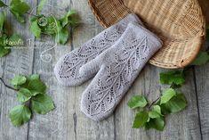 Ravelry: Frozen leaves mittens by Tatyana Nosova