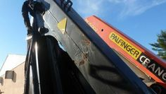 1993 PALFINGER KNUCKLEBOOM MODEL PK10500A; 4.5 TON - for sale
