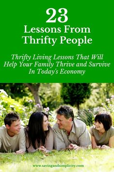 Thrifty people pass on the extras and live below their means so they can afford…