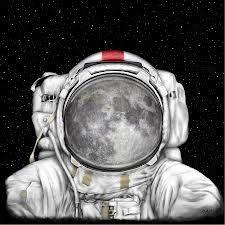Astronaut Moon - Marilynn Flynn