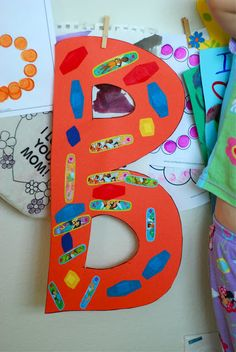 better than i could have imagined: B is for…. better than i could have imagined: B is for…. Preschool Letter B, Letter B Activities, Alphabet Letter Crafts, Abc Crafts, Toddler Learning Activities, Alphabet Book, Preschool Activities, Daycare Crafts, Daycare Ideas