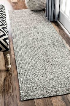 Features:  -Can be used in a playroom.  -Construction: Braided.  Technique: -Braided.  Primary Color: -Salt/Pepper.  Product Type: -Area Rug.  Material Details: -100% Polypropylene.  Product Care: -Va