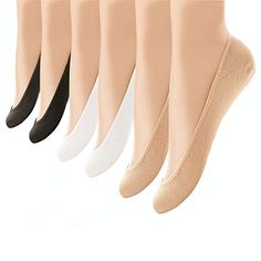 6 Pairs Womens Thin Casual 6 Pairs Low Cut Loafer No Show Socks Hidden Boat Liners Non Slip Heel for US Size 6.5-8.5  80% Nylon, 17% Polyester, 3% Spandex. Perfect for providing your feet with protection in your favorite low cut shoes.  6 Pairs of No Show Socks: Soft, breathable, wearable, moisture wicking, odor and bacteria fighting. Elastic flat boat liner, low cut opening, quality thickness, keep your foot cool and comfortable.  These no show socks are ideal for indoor and outdoor a...