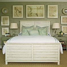 2011 Ultimate Beach House Room Tour | The Master Bedroom | CoastalLiving.com