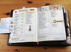 My pages from last week in my bullet journal #bujo #bulletjournal #planner