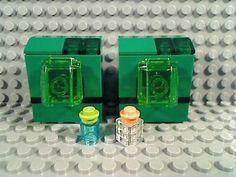 LEGO-Modern-WASHER-DRYER-Fabric-Soap-Garage-Green-Washing-Machine-Clothes-Dirt