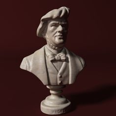 Wagner Bust 3D Model- Wilhelm Richard Wagner - 22 May 1813 – 13 February 1883) was a German composer, theatre director, polemicist, and conductor who is chiefly known for his operas.  Unlike most opera composers, Wagner wrote both the libretto and the music for each of his stage works. Initially establishing his reputation as a composer of works in the romantic   , visual, musical and dramatic arts, with music subsidiary to drama. He described this vision in a series of essays published…