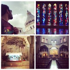 This is the Basilica of the Annunciation, a church in Nazareth village in Israel, believed to contain the remains of Mother Mary's childhood home. Follow our #TravelAdventurer, Aman Chotani, as he explores the historical towns of Nazareth and Bethlehem. #IsraelinFocus #GYDLive #GrabYourDream #travel #adventure #travelgram #traveller #adventure #wanderlust #Israel #explore #photography #travelphotography