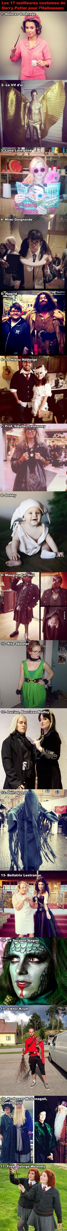 Les 17 meilleurs costumes d'Harry Potter pour l'Halloween