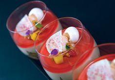 Dessert Professional | The Magazine Online - Apamate: Peach and Earl Grey Verrine