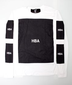 For 2013 A$AP Rocky showed up in Hood By Air's extremely limited run Air Morph Backpack shirt. Description from defynewyork.com. I searched for this on bing.com/images