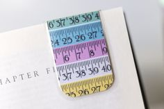 Sewing Bookmark Magnetic Measuring Tape by PurelyChicDesigns