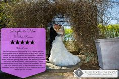 Pure Platinum Party Provided Our Award Winning Wedding Dj Entertainment And Photography Services For Nadya Garrett S Fairytale At New Yor