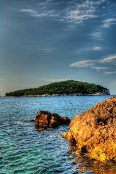 Lokrum Island at Sunrise & Amazing Adriatic Sea View www.casademar.com