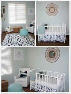 Gender Neutral Baby Nursery for the Minimalist!