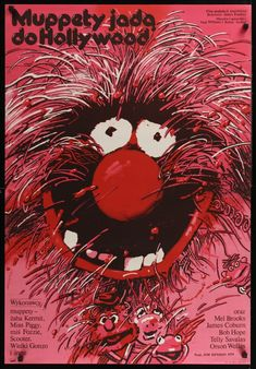 Vintage Polish poster for The Muppet Movie