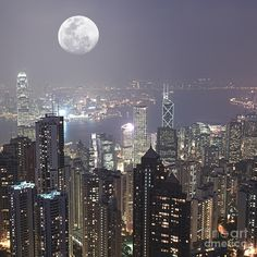 Hongkong Photograph by MotHaiBaPhoto Prints - Hongkong Fine Art Prints and Posters for Sale