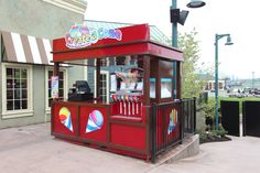 The Create-a-Cone at The Island in Pigeon Forge is perfect for a refreshing treat!