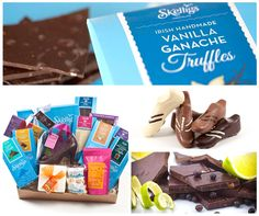 We love this family owned Irish company nearly as much as we love their chocolate. Our guides always try pop in on tour so you can experience some of the 'sweetest' food Ireland has to offer, especially if you have a sweet tooth Chocolate Day, Chocolate Gifts, Vanilla Ganache, Chocolate Hampers, 4th Of July Celebration, Truffles, Ireland, Sweet Tooth, Irish