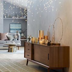 """""""All of the lights. All of them. Shop this look with the link in profile! #mywestelm #sparkwonder"""""""