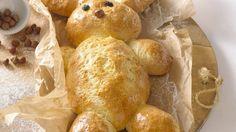 Rezept: Osterhase aus Hefeteig