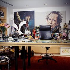 Nike CEO Mark Parker's office.