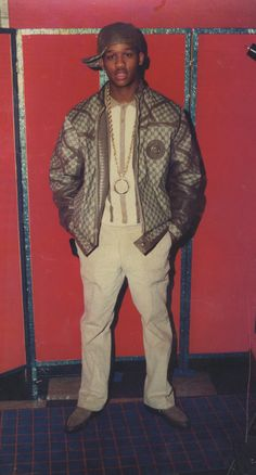 In this week's issue, Kelefa Sanneh writes about Dapper Dan, a designer who co-opted luxury-brand logos out of his Harlem boutique, creating one-of-a-kind outfits for hip-hop artists, rappers, and gangsters in the '80s (sub req): http://nyr.kr/15P9K20 Click through for a slide show of photographs of some of Dapper Dan's custom outfits, like those in the photo above, worn by drug dealer Alberto (Alpo) Martinez in 1988: http://nyr.kr/ZHROm8