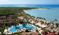 Lounge at the pool, explore the waves, or dine in style during your stay at this all-inclusive Dominican Republic resort; includes airfare