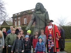 Childe of Hale statue unveiling.