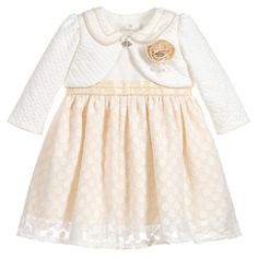 Romano Princess - Baby Girls 2 Piece Dress Set | Childrensalon