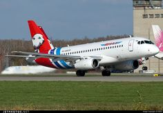 Sukhoi Superjet 100, Commercial Plane, Photo Online, Aviation, The 100, Aircraft, Military, Vehicles, Planes