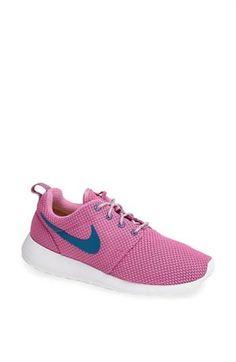 c11755efe724c3 Nike  roshe Run  Sneaker (women) Womens Violet  Grey  White