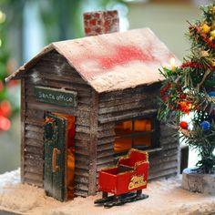 #サンタオフィス 出来た❄️ #イブの夜  #コンコン ❄️❄️❄️ #降り積もった雪 もやみ #満点の星空 を #いざ #出陣  #イメージ です よf^_^; #雪かき サンタもするよきっと #ツリー  #イルミネーション してるよ  す  少し #ミニチュア#ドールハウス#手作り #クリスマス#クリスマスイブ  #サンタのお仕事 #サンタクロース #japan #hokkaido #hakodate #miniature#doolhouse #handmade  #santaoffice #santaclaus  #cristmas #cristmastree  #santajob . . #landscape49 (⬅️doolhouse page)