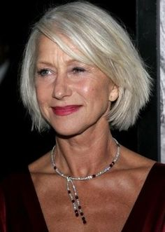 Gray Hair Styles for Women Young Old