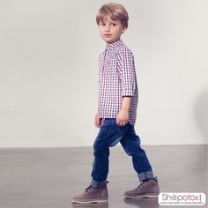 Let him be. Set him free! Cool and comfortable Linen Shirt for daily and play time wear Avail 15% off on shopping above INR 999.Use coupon code 'XMAS15' at checkout.  #shopotox #kidswear #kidsfashion #linenwearforkids