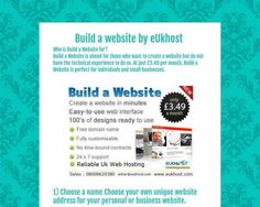 What is Build a Website?Build a Website is a simple, integrated website hosting product that incorporates a full-featured website builder that works through your Web browser (the software you use to access websites) - so, there is no software yo. Building A Website, Create Website, Web Browser, Guide, Gadgets, Shopping, Gadget