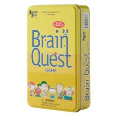 Add a brain teaser to your family game night with #BrainQuest. #game #Kohls