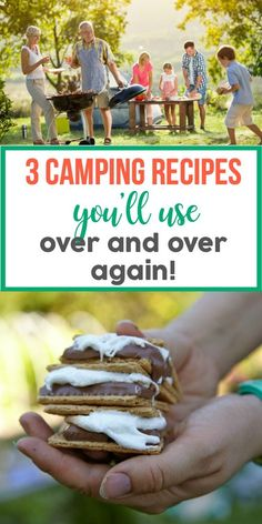 Easy Camping Recipes – We Have Them All! Dutch Oven Recipes For Camping, Campfire Tin Foil Cooking, Camping Grill Recipes. Dutch Oven Camping, Camping Grill, Camping Meals, Family Camping, Tent Camping, Camping Hacks, Camping Recipes, Outdoor Camping, Camping Stuff