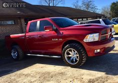 This 2010 Dodge Ram 1500 RWD is running Fuel Octane wheels Nitto Mud Grappler tires with Pro Comp Leveling Kit suspension. Ram Trucks, Dodge Trucks, 2010 Ram 1500, Ram Mega Cab, Dakota Truck, Ram Power Wagon, Luxury Cars, Luxury Vehicle, Future Trucks