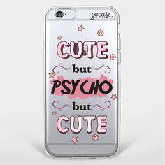 Custom Phone Case Psycho but Cute  iPhone 7/7 Plus/6 Plus/6/5/5s/5c Case  Tags: accessories, tech accessories, phone cases, electronics, phone, capas de iphone, iphone case, white iphone 5 case, apple iphone cases and apple iphone 6 case, phone case, custom case.  Shop now at: http://goca.se/gorgeous