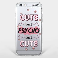 Custom Phone Case Psycho but Cute  iPhone 7/7 Plus/6 Plus/6/5/5s/5c Case  Tags: accessories, tech accessories, phone cases, electronics, phone, capas de iphone, iphone case, white iphone 5 case, apple iphone cases and apple iphone 6 case, phone case, custom case.  Shop now at: http://goca.se/gorgeous