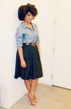 c9798820f98 Chambray. Curvy Girl FashionPlus Size ...