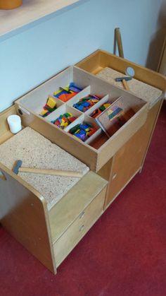 Preschool Classroom, In Kindergarten, Reggio Emilia Approach, I Love School, Community Helpers, Lessons For Kids, Childcare, Storage Chest, Art For Kids