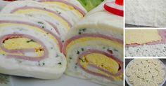 11 tipov na najlepšie slané rolády! Queso, Meat Recipes, Doughnut, Sushi, Rolls, Eggs, Cheese, Cookies, Healthy